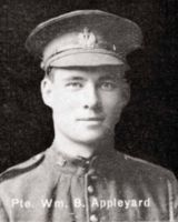 Private William Byecroft Appleyard