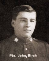 Private John Birch
