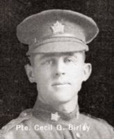 Private Cecil George Birley