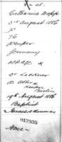 Death Registration of Catharine Dopp