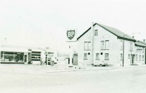 Aberle Service Station 1973