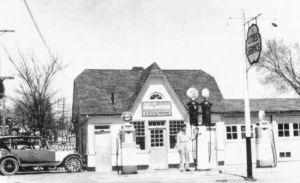 Aberle Service Station 1948