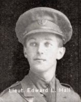 Second Lieutenant Edward Lawrence Hall