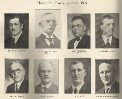 Hespeler Town Council 1927