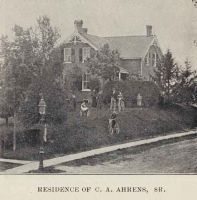 Residence of C. A. Ahrens Sr. 1897