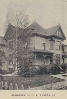 Residence of C. A. Ahrens Jr. 1897