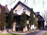Ahrens St. W. 0078 - House - 2 storey - buff brick Kitchener