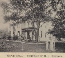 Maple Hall residence of H. S. Boehmer