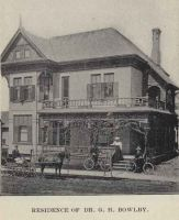Residence of Dr. G. H. Bowlby 1897 Kitchener