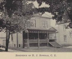 Residence of H. J. Bowman 1897 Kitchener, Ontario