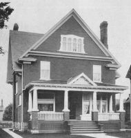 Frederick St. 0265 - House - 2 storey - brick - Neo Classical Kitchener