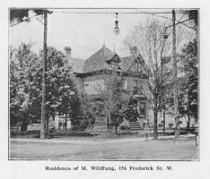 Residence of M. Wildfang in 1912