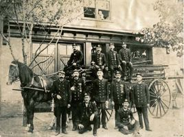 Berlin Fire Department - from Kitchener Public Library