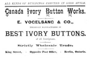 Canada Ivory Button Works