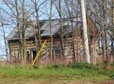 1571 Fischer-Hallman Rd., Log House removed 2011