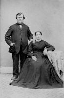 Catherine Klein with husband William Rothaermel