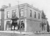 King St. E. 0176 - Store -  brick - 2 storey (formerly 94) <font size=&#34;1&#34; color=&#34;blue&#34;>Gone</font> Kitchener