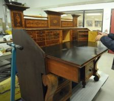 Desk owned by Titus Nevills