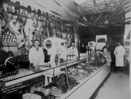 Berdux Brothers 35 King St. N., Waterloo and Berdux Meat Market 95 King St. W., Kitchener