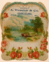 Weseloh & Co advertizement